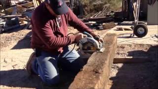 Download Cutting a Railroad Tie Video