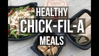 Download Top 5 Healthy Chick-Fil-A Meals Video