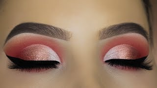 Download Peachy Eye Makeup Tutorial using $6 Palette?! Video