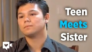 Download Homeless teen finds sister but that's not the best part Video