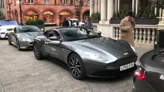 Download Aston Martin Rev Battle in London! Brand New Vanquish S! Video