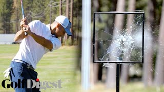 Download Steph Curry, Deron Williams, and More Celebrities Try To Smash Glass at Lake Tahoe | Golf Digest Video