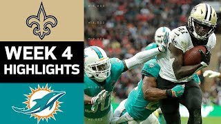 Download Saints vs. Dolphins | NFL Week 4 Game Highlights Video