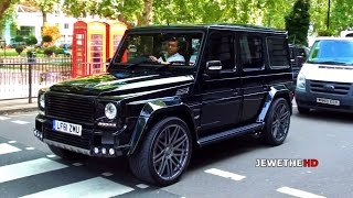 Download Mercedes-Benz BRABUS G-Class K8 in London! BEAST Exhaust Sounds! Video