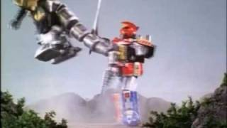 Download Mighty Morphin Power Rangers Megazord vs Dragonzord Video