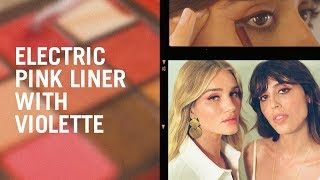 Download Electric pink eyeliner with Violette Video