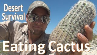 Download Cactus Eating -Desert Survival- Food & Water Video