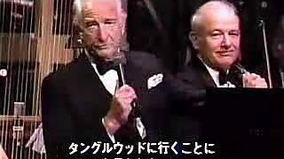 Download Victor Borge plays Wagner piece (?) celebrating for Leonard Bernstein's 70th birthday in Tanglewood Video