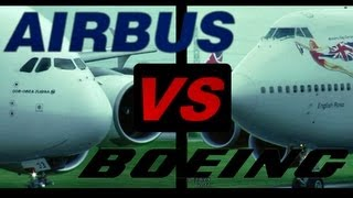 Download Boeing 747 ″Jumbo Jet″ vs. Airbus A380 ″SuperJumbo″ (Full HD1080p) Video