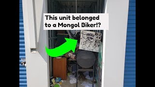 Download I bought a Storage unit that was owned by a Biker Gang!? Video