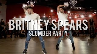 Download YANIS MARSHALL & KEVIN VIVES HEELS CHOREOGRAPHY ″SLUMBER PARTY″ BRITNEY SPEARS FEAT TINASHE. Video