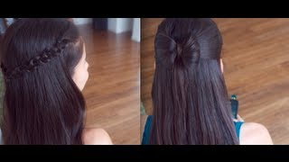 Download 4 Cute Back to School Hair Styles !!! (Promise Phan) Video