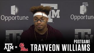 Download Ole Miss Postgame   Trayveon Williams 11.18.17 Video