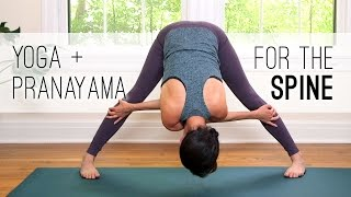 Download Yoga + Pranayama for the Spine - Yoga With Adriene Video