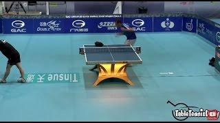 Download Vladimir Samsonov Serve Practice - World Tour Grand Finals 2015 Video