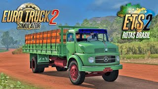 Download Euro Truck simulator 2 - Mapa Rotas Brasil MERCEDES-BENZ 1111 Indo pra Fazenda! Video