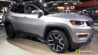 Download 2018 Jeep Compass Limited - Exterior and Interior Walkaround - 2017 Detroit Auto Show Video