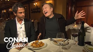 Download Conan's Dinner With Jordan Part 1 - Conan25: The Remotes Video