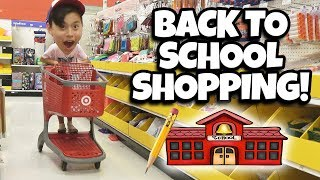 Download BACK TO SCHOOL SHOPPING!!! We Spent Too Much $$$ at Target! Video