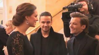 Download Герцогиня Кембриджская Кэтрин пообщалась с музыкантами One Direction (новости) Video