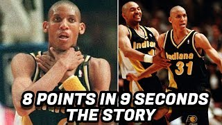 Download The Story Behind Reggie Miller's 8 Points in 9 Seconds! Greatest NBA Comeback? Video
