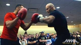 Download UFC on FOX 17: Junior dos Santos Open Workout Video