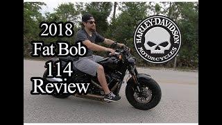 Download Harley Davidson 2018 Fat Bob 114 Review Video