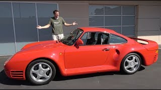 Download The Porsche 959 Is a $1.5 Million Automotive Icon Video