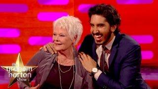 Download Dev Patel Explains Genital Joke To Dame Judi Dench - The Graham Norton Show Video