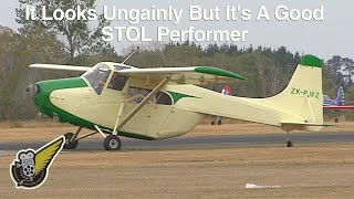 Download Very Rare 1950's STOL Aircraft Still Flying Today Video
