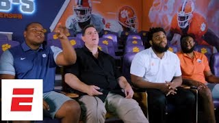 Download Clemson Tigers' D-line chats with Trevor Match on his college football tour | ESPN Video