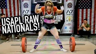 Download MY NEW RAW TOTAL - MEGSQUATS USAPL RAW NATIONALS Video