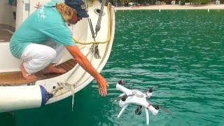 Download Throw Your ″Mariner″ DRONE in the OCEAN and it will SURVIVE! - Filmed in British Virgin Islands Video