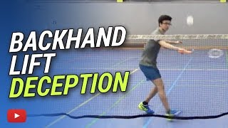 Download Badminton Tips and Tricks - Backhand Lift Deception featuring Camilo Borst Video