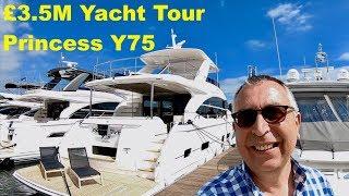 Download £3.5M Yacht Tour : Princess Y75 Video