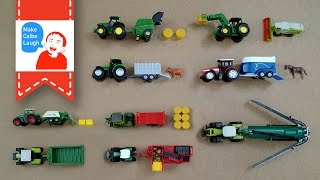 Download Learning Farm Vehicles Names for kids with siku Video