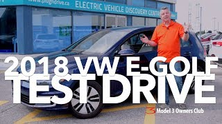 Download 2018 VW E-GOLF Test Drive   Model 3 Owners Club Video