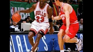 Download Chicago Bulls vs Olympiacos 104-78 McDonald's Open 1997 Final Video