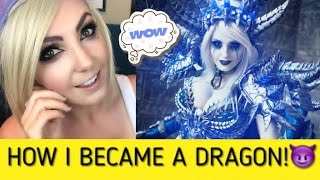 Download HOW TO MAKE SINDRAGOSA: Cosplay Creation Time Lapse & Walk Through Jessica Nigri Video
