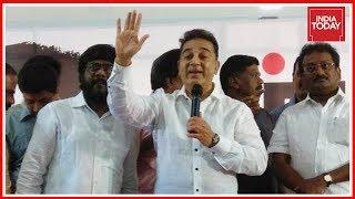 Download Kamal Haasan Slams Hindutva Politics, Claims Not Against Hindus Video