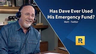 Download Has Dave Ever Used His Emergency Fund? Video