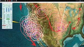 Download 4/18/2018 - Europe to USA - Earthquakes caused by seismic pressure transfer - OVER JUST DAYS TIME Video