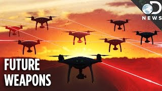 Download The Future Of Warfare: Laser Cannons & Drone Armies Video