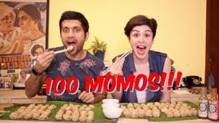 Download 100 MOMOS CHALLENGE! Video