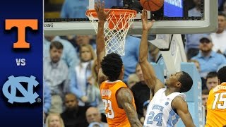 Download North Carolina vs. Tennessee Men's Basketball Highlights (2016-17) Video