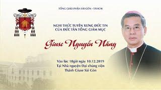 Download 🔴Trực tuyến: Nghi thức tuyên xưng đức tin của Tân Tổng Giám mục Giuse Nguyễn Năng Video