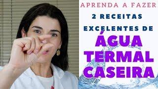Download Receitas de ÁGUA TERMAL CASEIRA - Tutorial Passo a Passo - Faça na sua casa Video