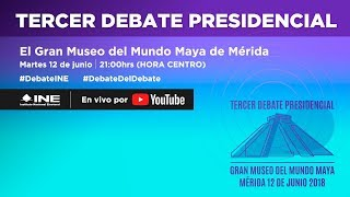 Download Tercer Debate Presidencial #Elecciones2018 Video
