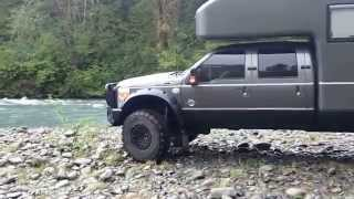 Download Earth roamer camping along the Hoh river Video