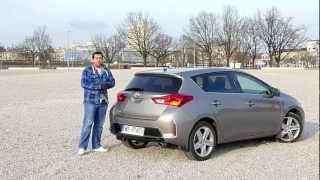Download (ENG) Toyota Auris / Corolla 1.6 CVT - Review and Test Drive Video